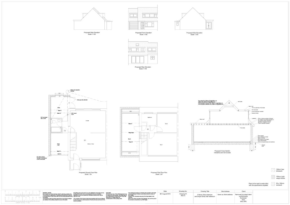 Garage Extension Plans Our garage conversion page We design bedroom – Garage Extension Plans