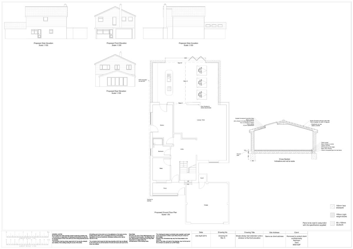 KCD Design Extension Plans